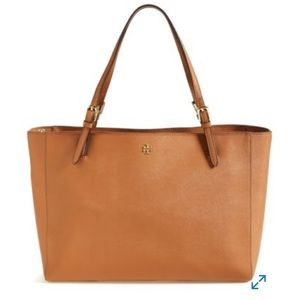 """Tory Burch """"York"""" Large Buckle Tote"""